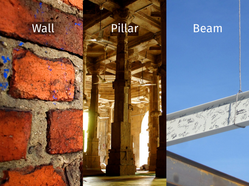 Waldo Wall Pillar Beam