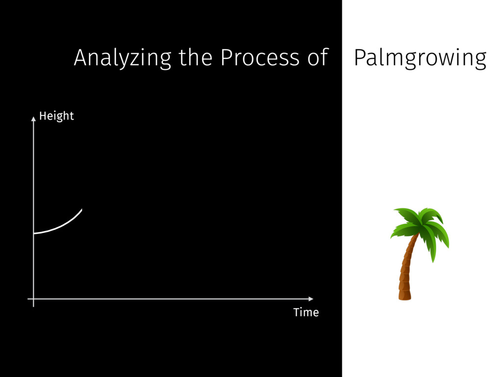 Height Time Analyzing the Process of Palmgrowing