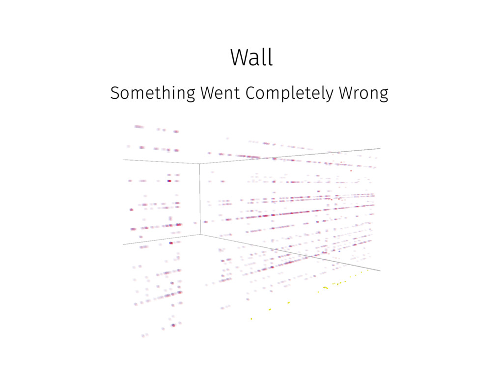 Wall Something Went Completely Wrong