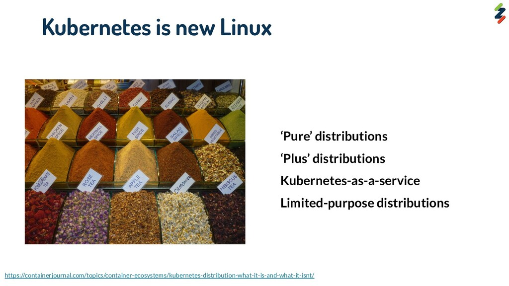Kubernetes is new Linux 'Pure' distributions 'P...
