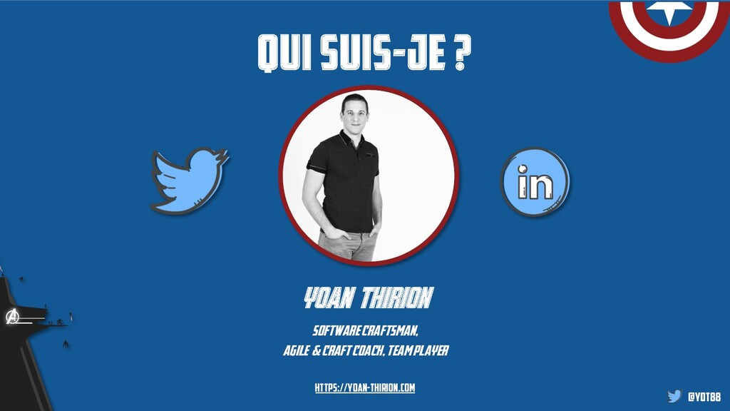 @yot88 Qui suis-je ? yoan thirion software craf...