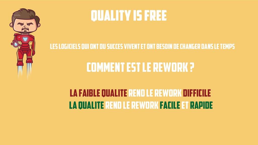 Quality is free Les logicielsqui ontdu succesvi...