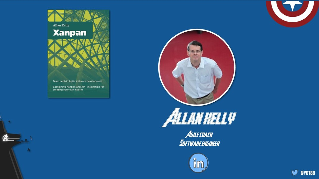 @yot88 Allan kelly Agile coach Software engineer
