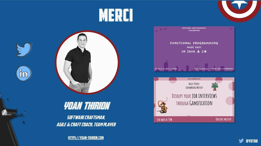 @yot88 merci yoan thirion software craftsman, a...