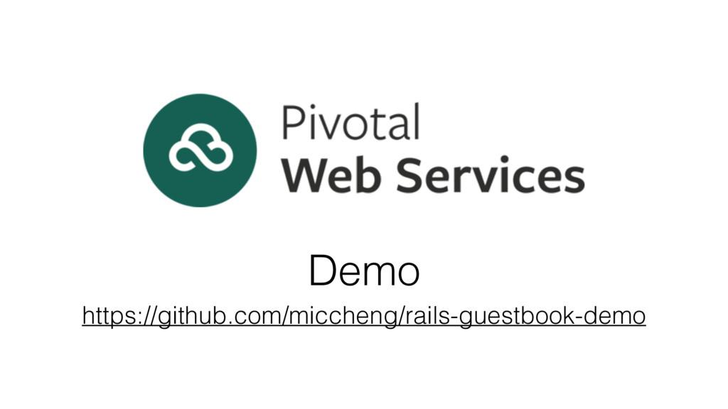 Demo https://github.com/miccheng/rails-guestboo...