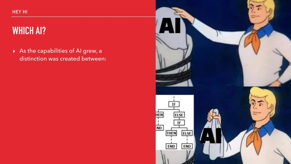 HEY HI WHICH AI? ▸ As the capabilities of AI gr...