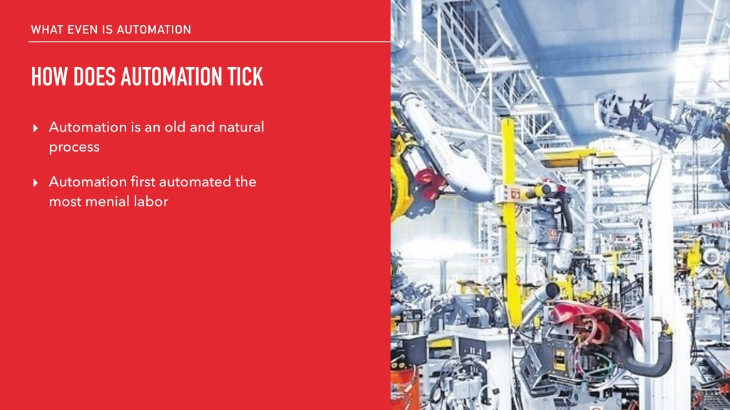 WHAT EVEN IS AUTOMATION HOW DOES AUTOMATION TIC...