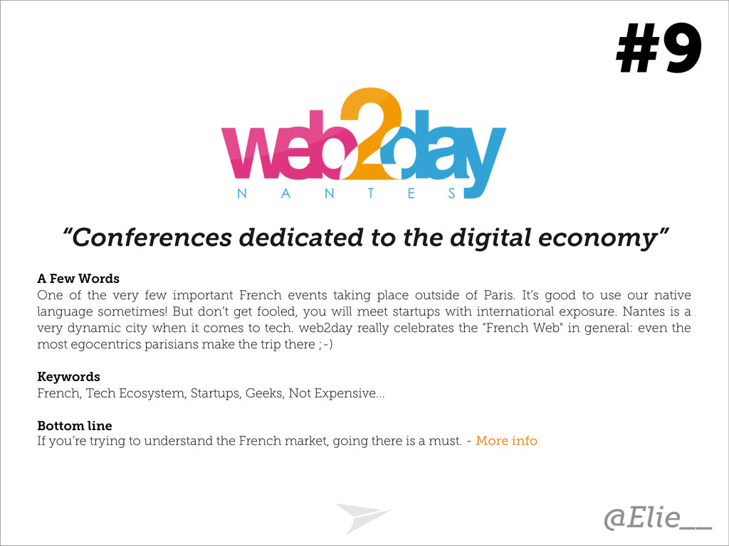 """Conferences dedicated to the digital economy"" ..."