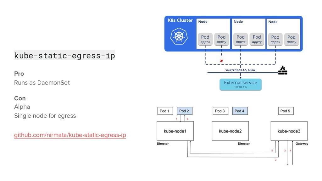 kube-static-egress-ip Pro Runs as DaemonSet Con...