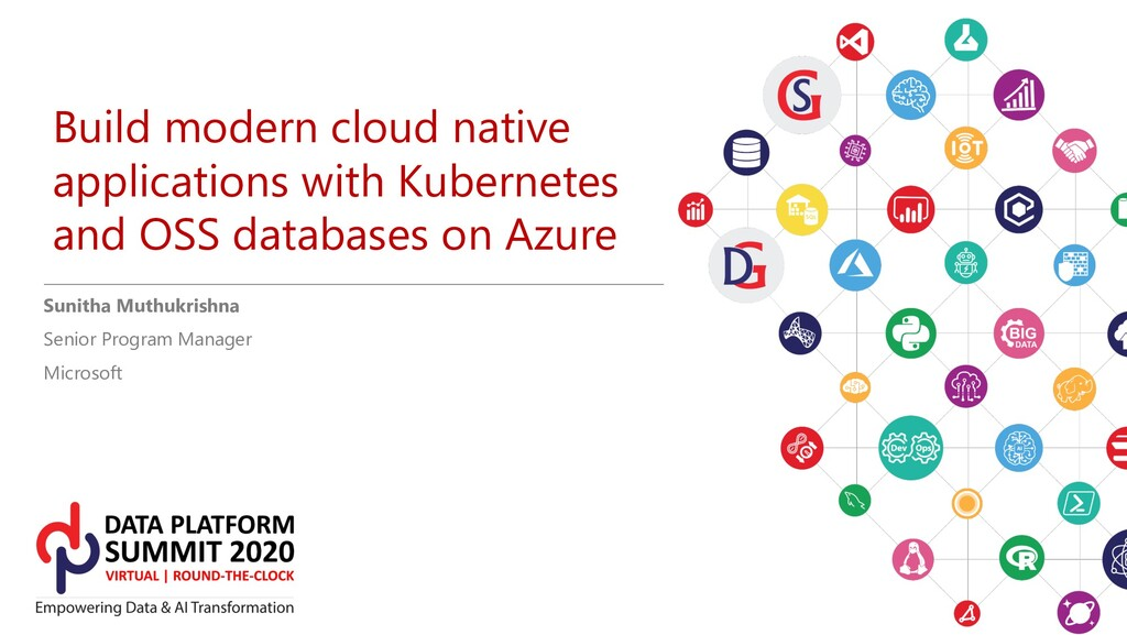 Build modern cloud native applications with Kub...