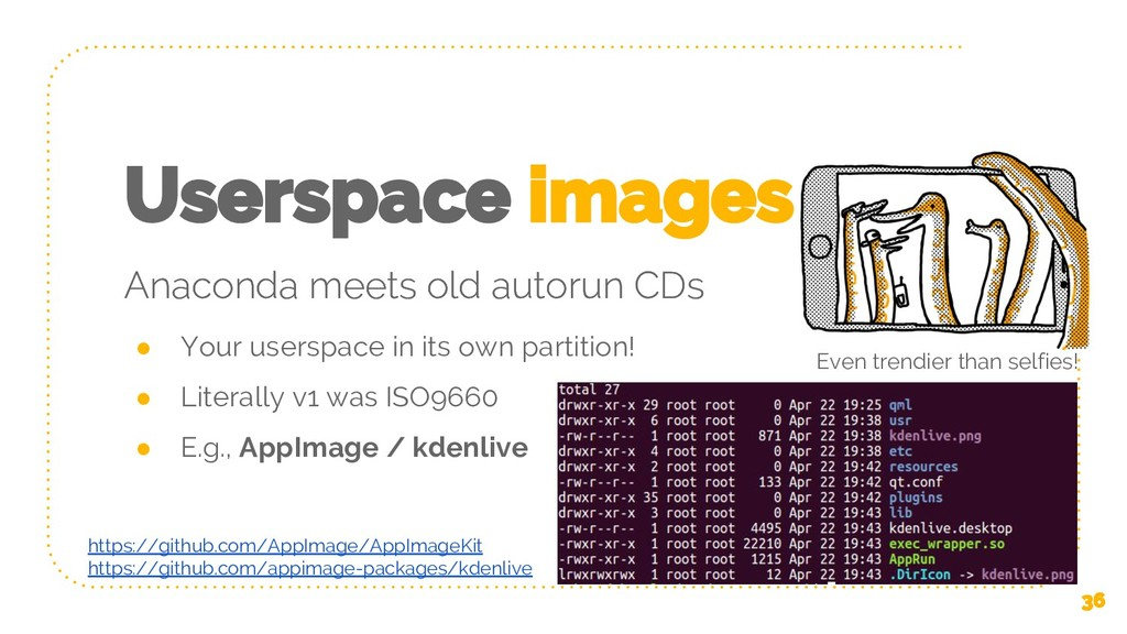 Userspace images Anaconda meets old autorun CDs...
