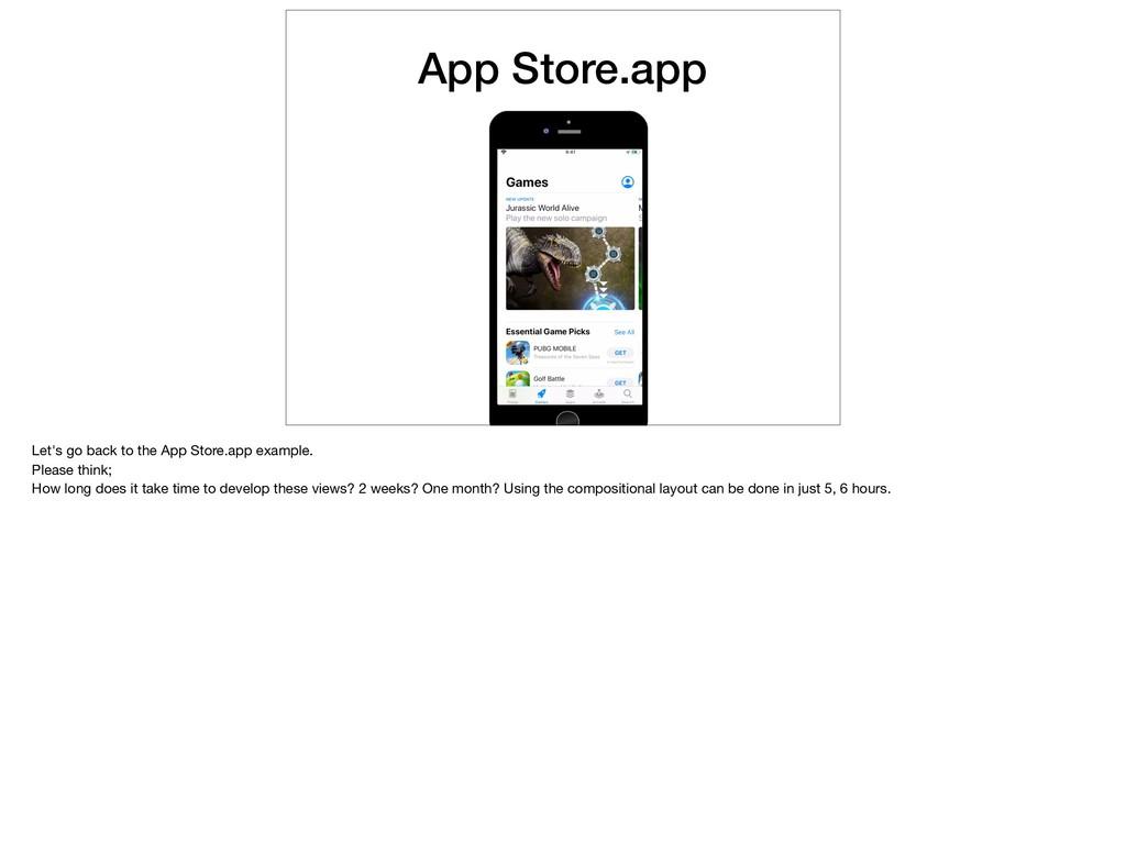 App Store.app Let's go back to the App Store.ap...
