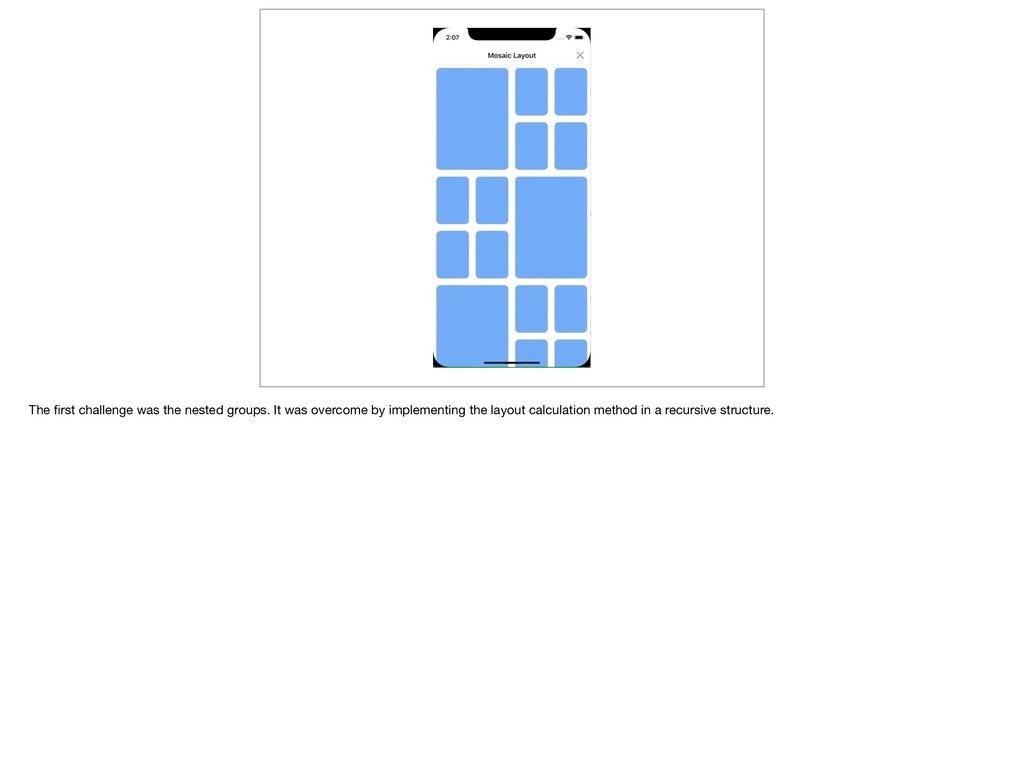The first challenge was the nested groups. It wa...