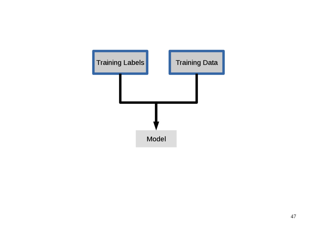 47 Training Data Training Labels Model