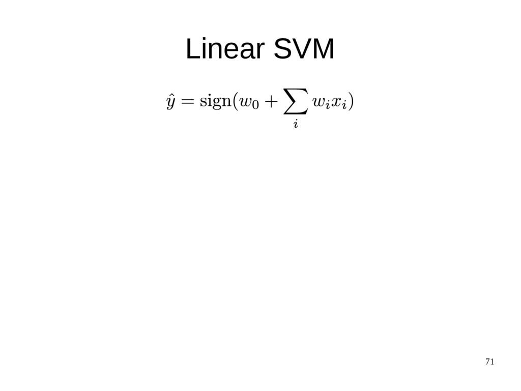 71 Linear SVM