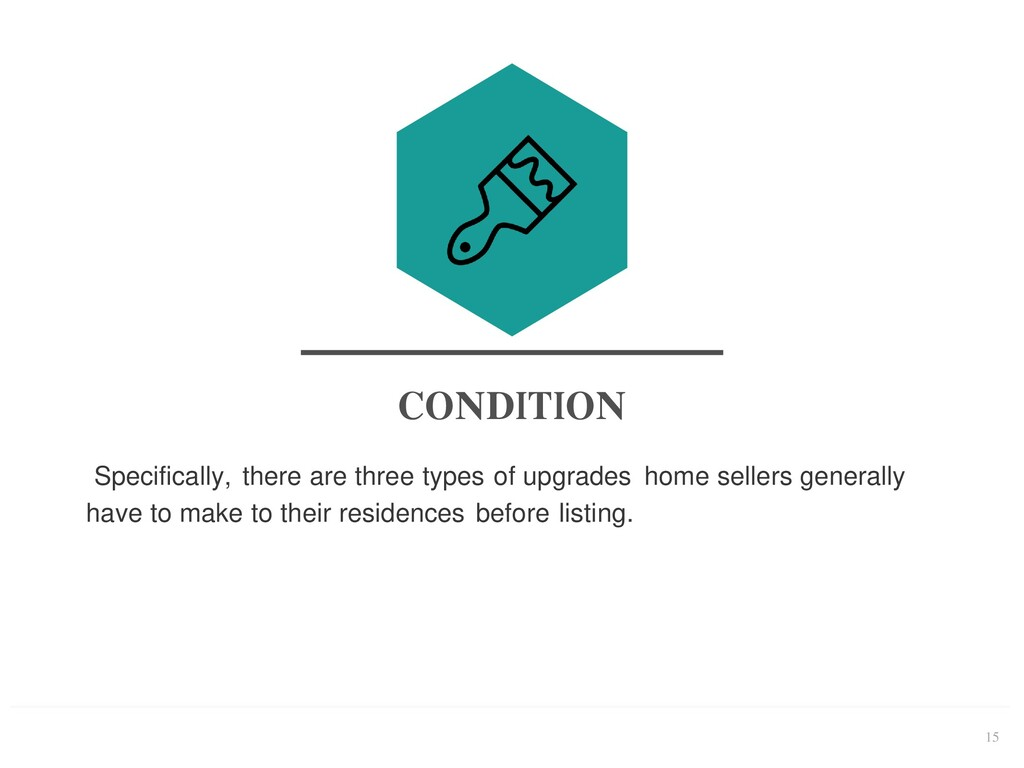 15 CONDITION Specifically, there are three type...