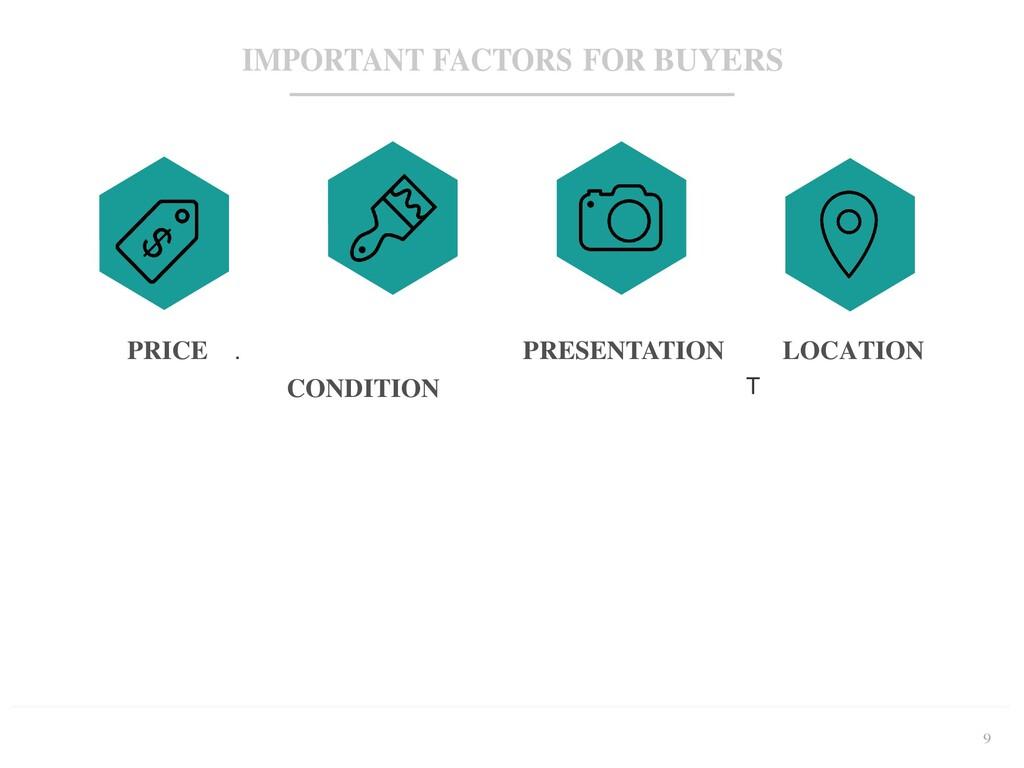 9 IMPORTANT FACTORS FOR BUYERS PRESENTATION PRI...