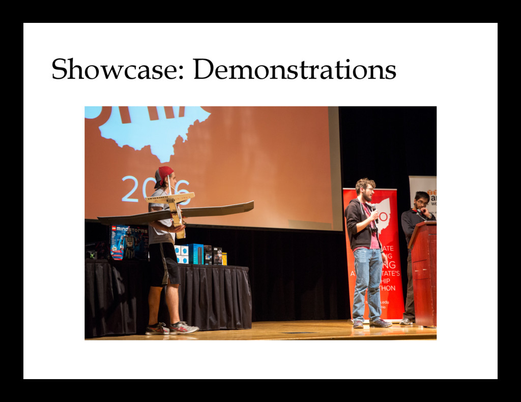 Showcase: Demonstrations