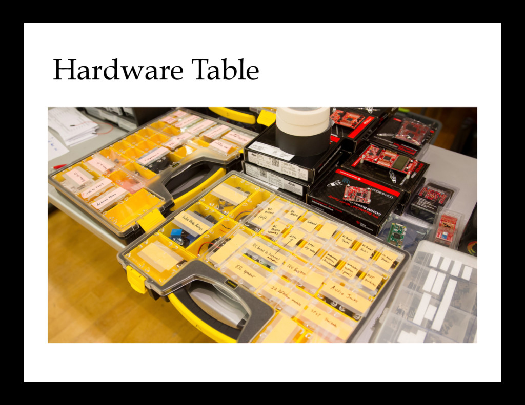 Hardware Table