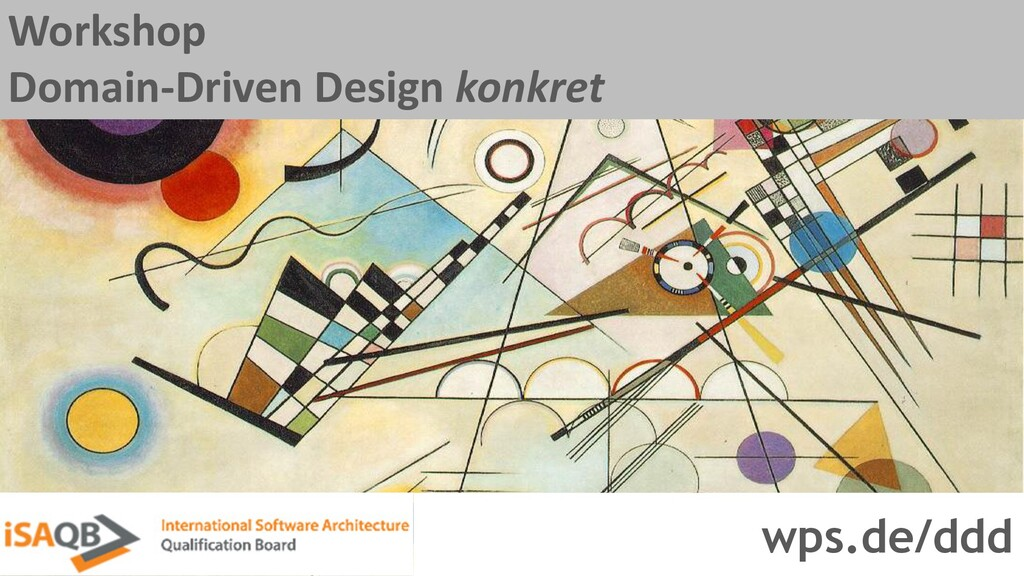 Workshop Domain-Driven Design konkret wps.de/ddd