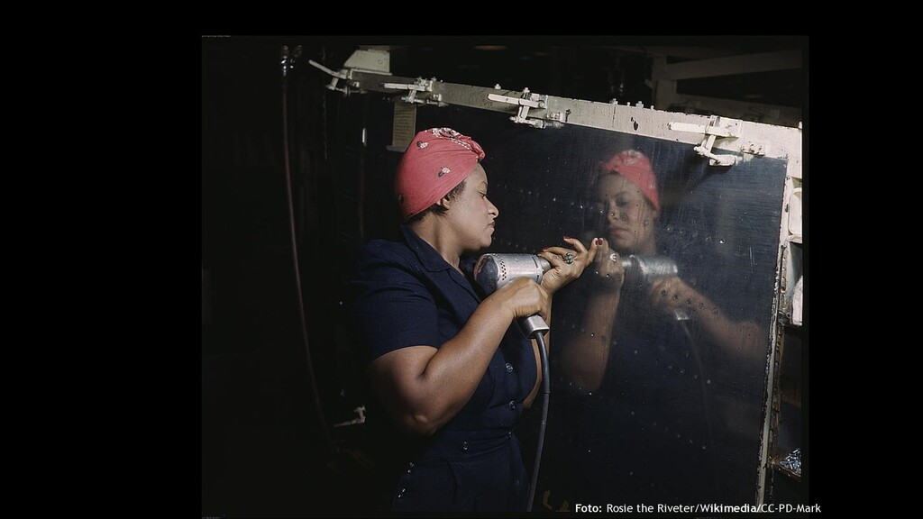 Foto: Rosie the Riveter/Wikimedia/CC-PD-Mark
