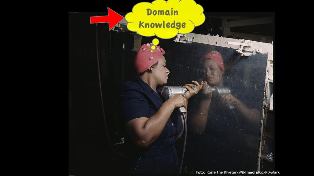 Domain Knowledge Foto: Rosie the Riveter/Wikime...