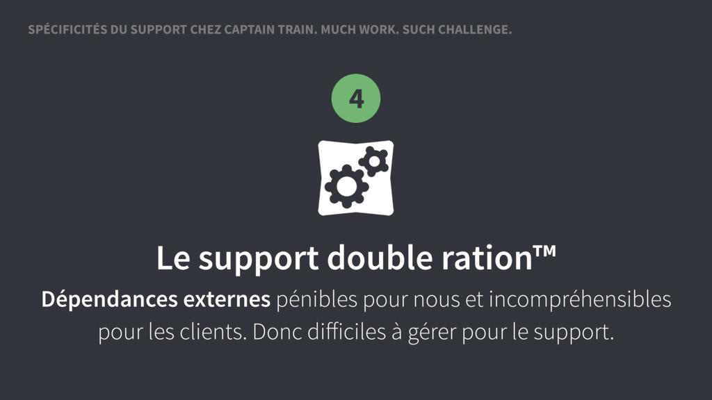 SPÉCIFICITÉS DU SUPPORT CHEZ CAPTAIN TRAIN. MUC...