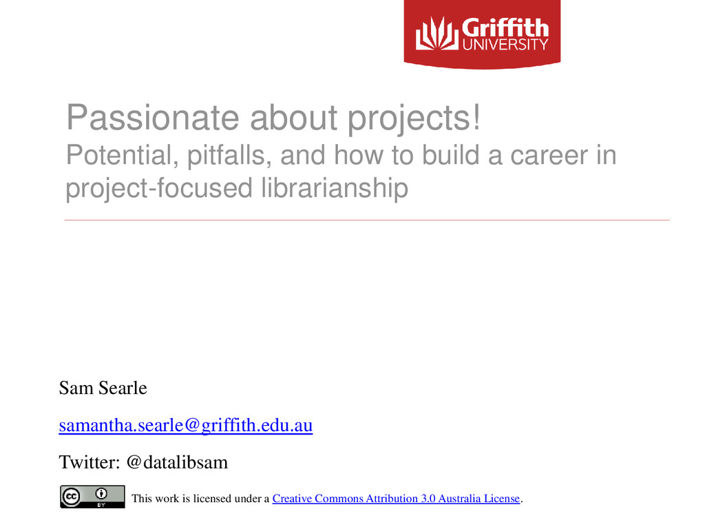 Passionate about projects! Potential, pitfalls,...