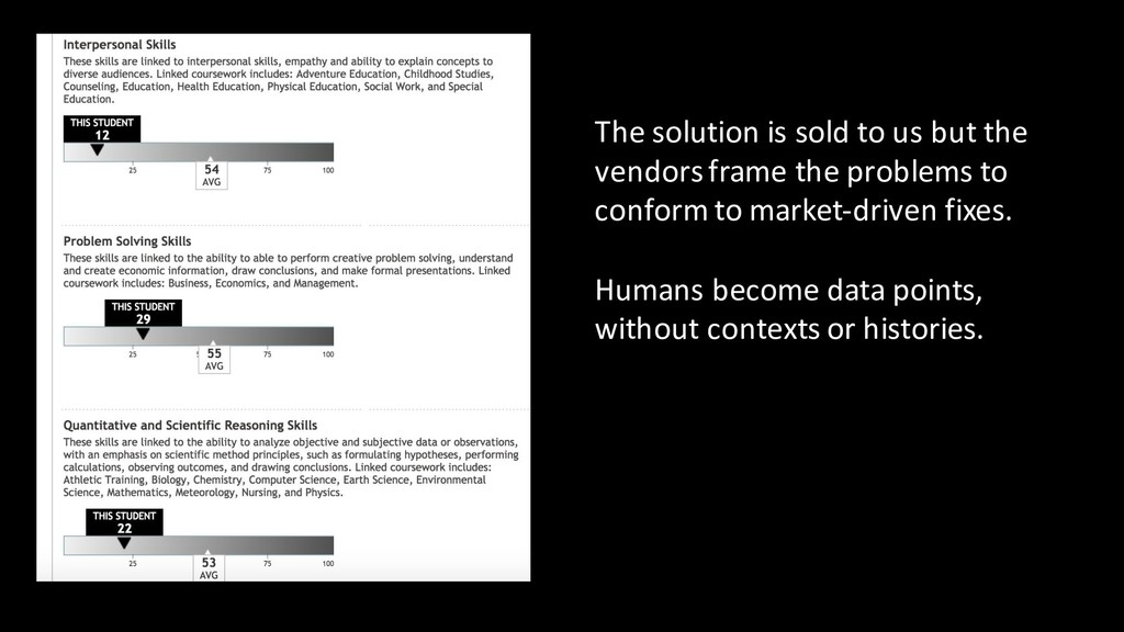 The solution is sold to us but the vendors fram...