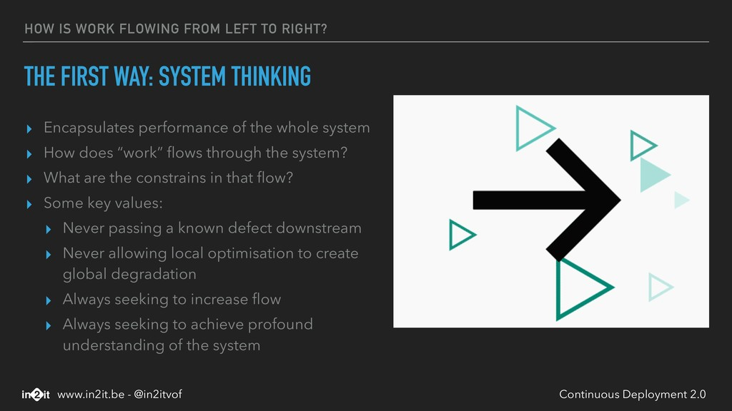 HOW IS WORK FLOWING FROM LEFT TO RIGHT? THE FIR...
