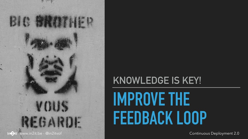 IMPROVE THE FEEDBACK LOOP KNOWLEDGE IS KEY! Con...