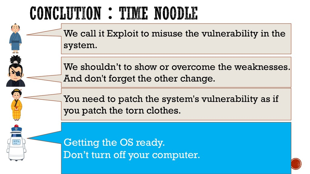 We call it Exploit to misuse the vulnerability ...