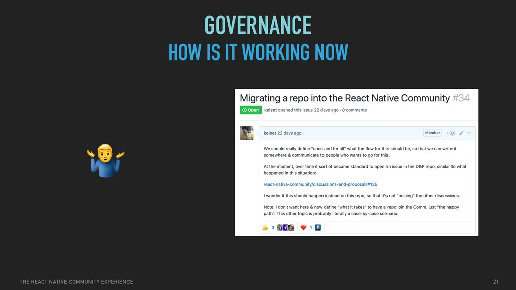 THE REACT NATIVE COMMUNITY EXPERIENCE HOW IS IT...