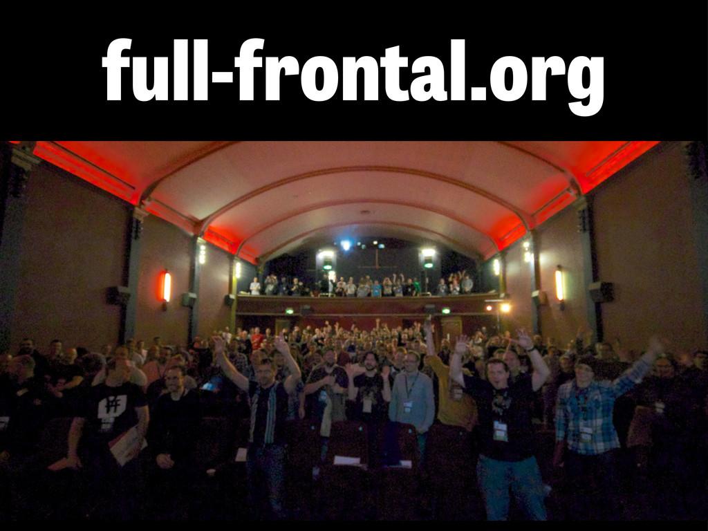 full-frontal.org