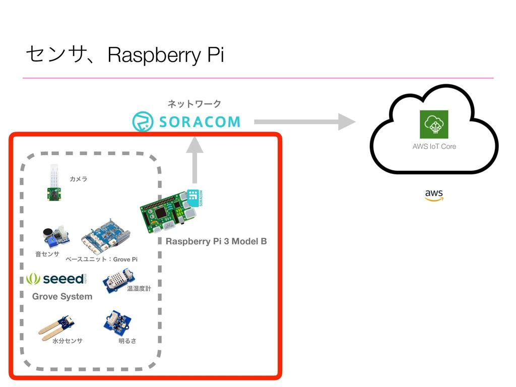 ηϯαɺRaspberry Pi Raspberry Pi 3 Model B Grove S...