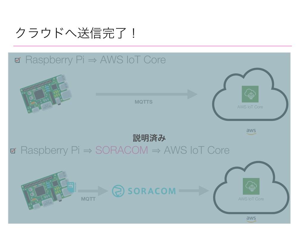 Ϋϥυૹ৴ྃʂ Raspberry Pi 㱺 AWS IoT Core Raspberr...