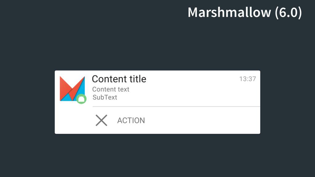 Content title Content text SubText 13:37 ACTION...