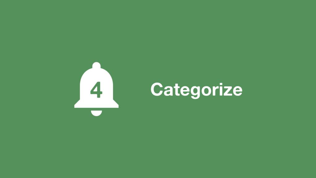 Categorize 4