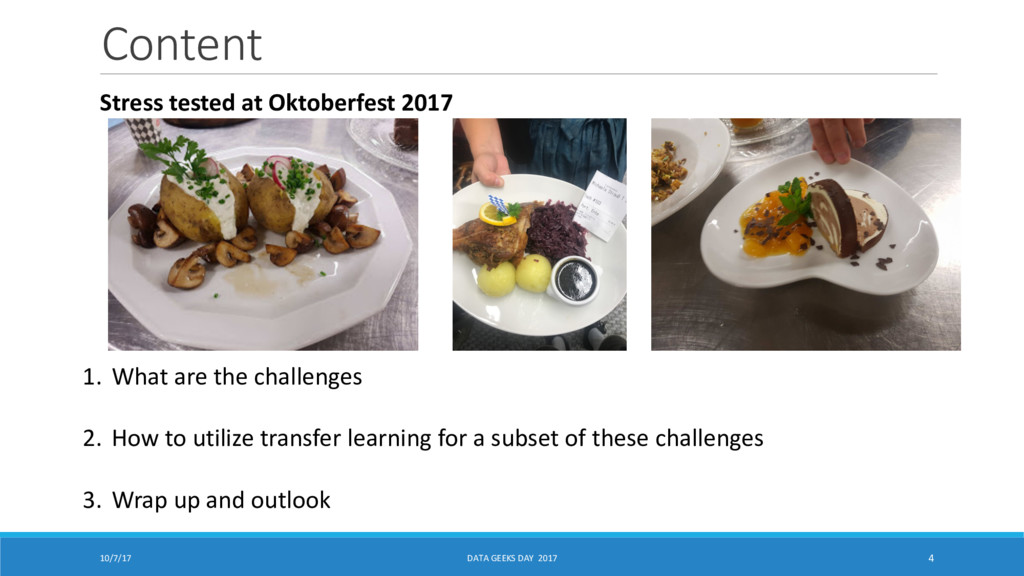 Content 10/7/17 DATA GEEKS DAY 2017 4 Stress te...