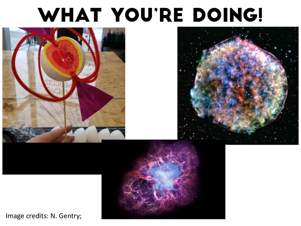 What you're doing! Watts+16 Image credits: N. G...