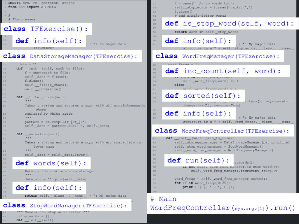 class DataStorageManager(TFExercise): class TFE...