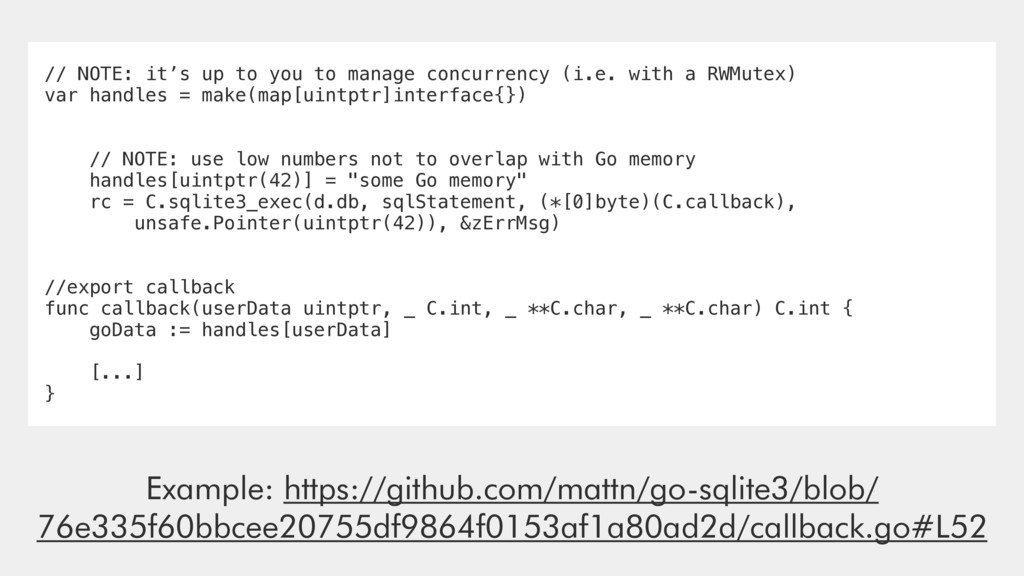 // NOTE: it's up to you to manage concurrency (...