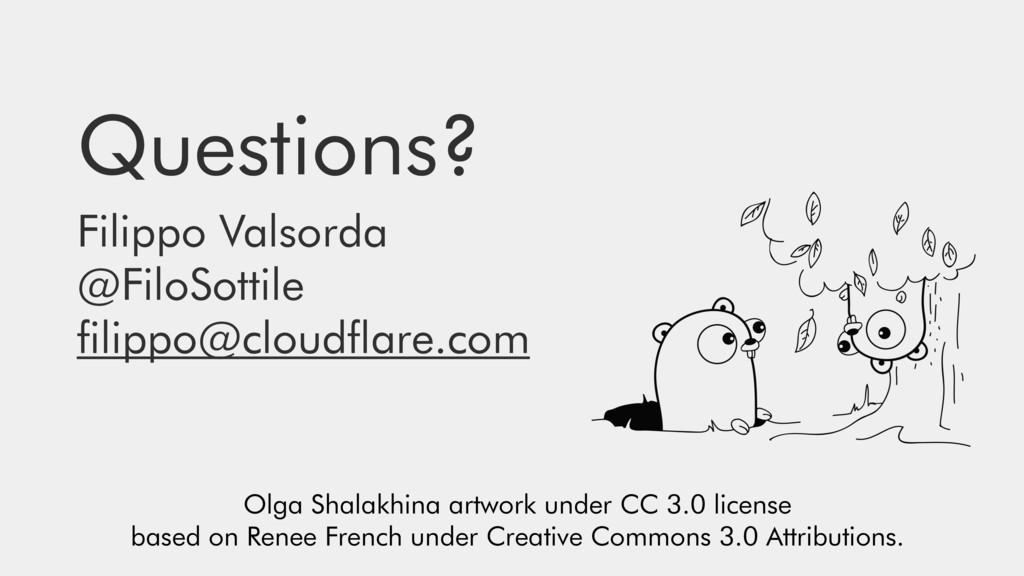 Questions? Filippo Valsorda @FiloSottile filipp...