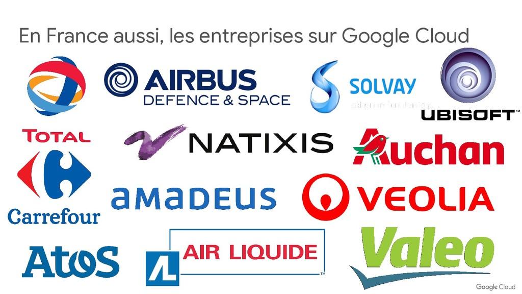 En France aussi, les entreprises sur Google Clo...