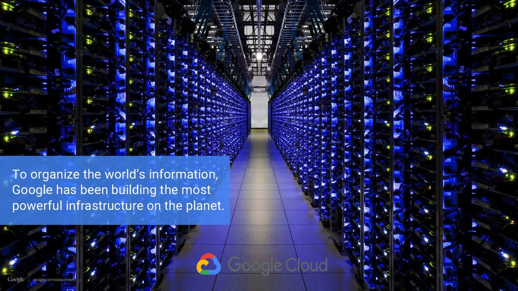 To organize the world's information, Google has...