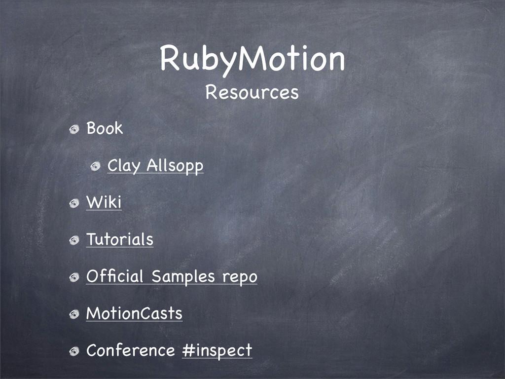 RubyMotion Book Clay Allsopp Wiki Tutorials Offi...