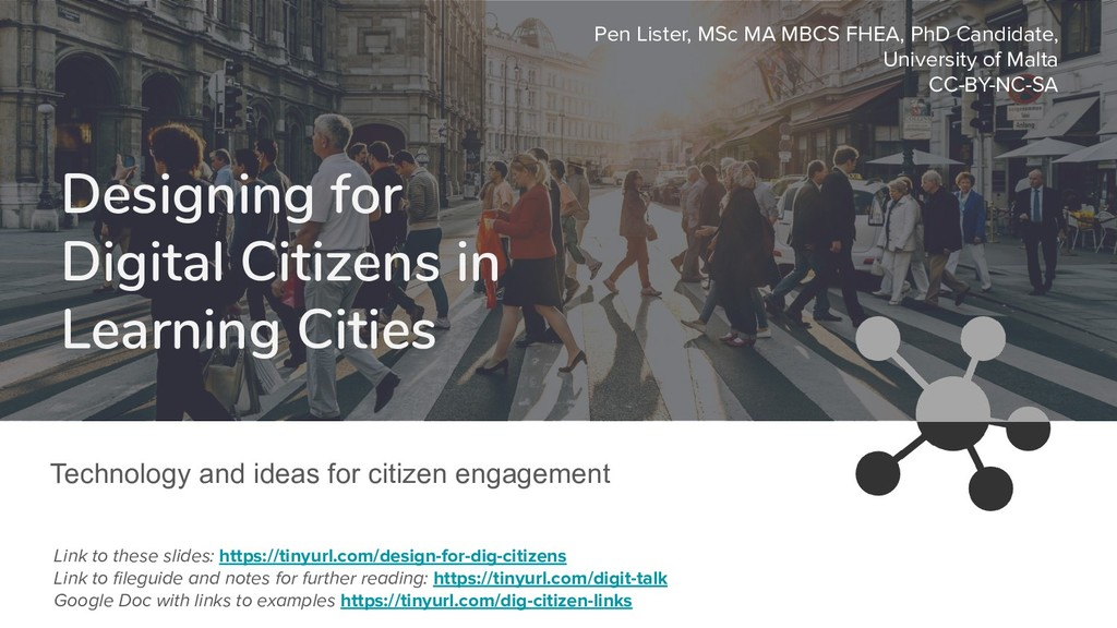 Designing for Digital Citizens in Learning Citi...