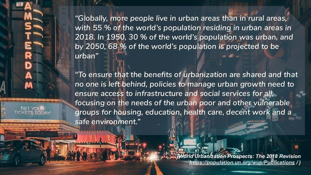 (World Urbanization Prospects: The 2018 Revisio...
