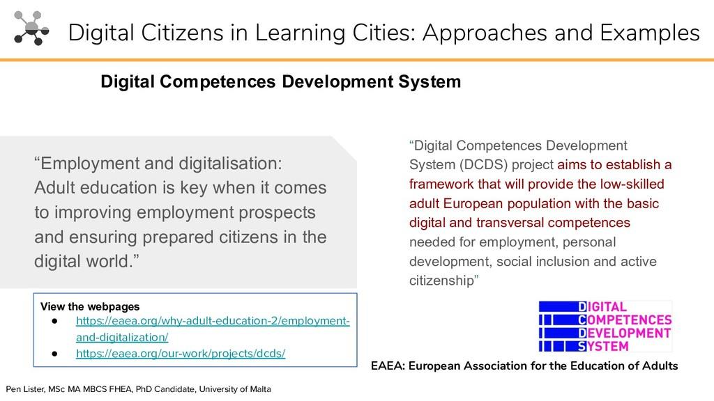 """Digital Competences Development System (DCDS) ..."