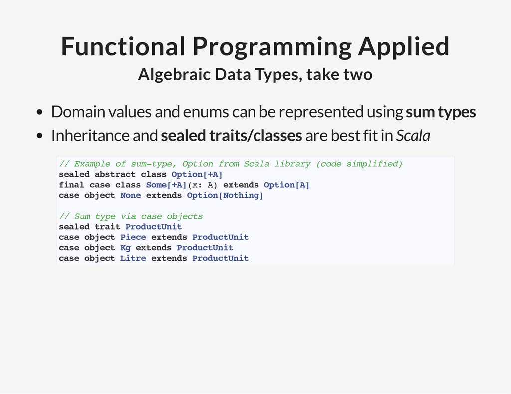 Functional Programming Applied Algebraic Data T...